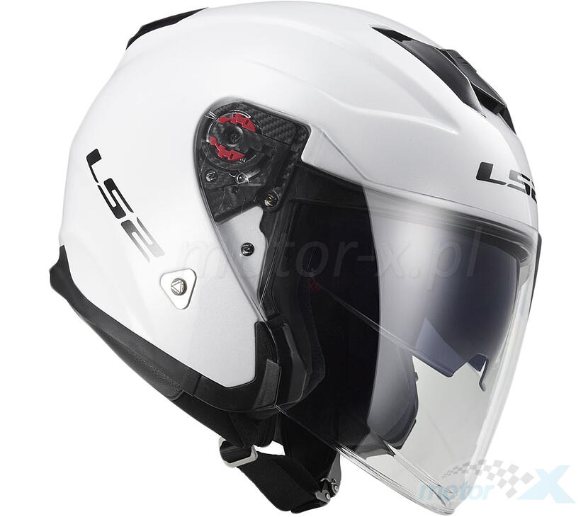 Kask otwarty LS2 OF521 Infinity Solid White XL (61/62)