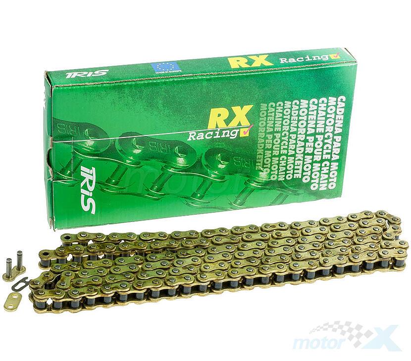 Łańcuch napędowy 428RX IRIS złoty [różna ilość ogniw]