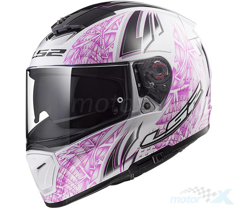 Silver LS2 Anti-Scratch FF390 Breaker Motorcycle Helmet Visor Face Shield LS2 Helmets