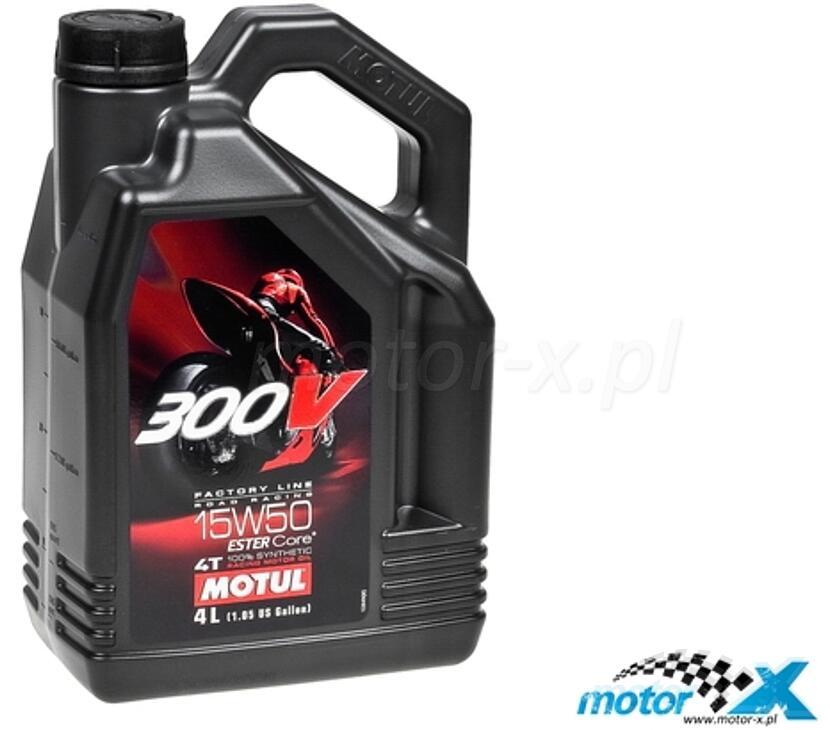 Olej silnikowy MOTUL 300V Factory Line syntetyczny 15W50 4L