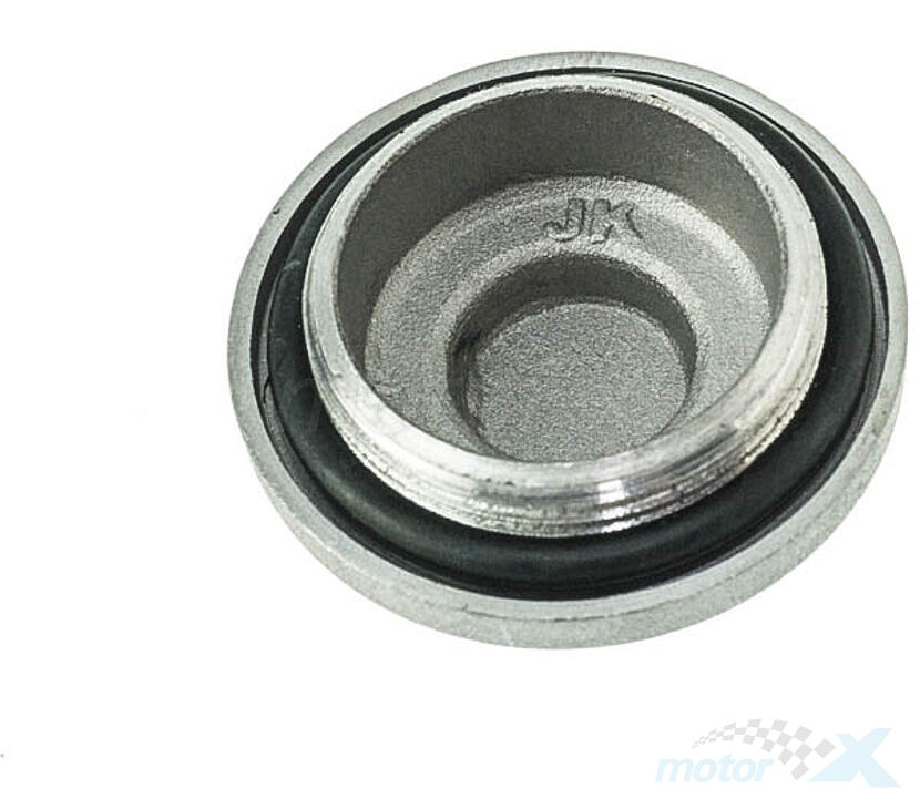 Korek M30x5mm z oringiem srebrny filtra oleju / spustu oleju / regulacji zaworów 4T