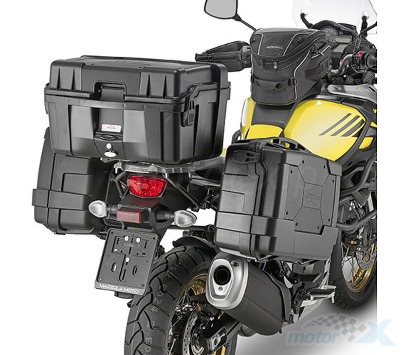 shop scopri le ultime tendenze raccolto Center or side trunk 52L Kappa Monokey Garda Black Line - www ...