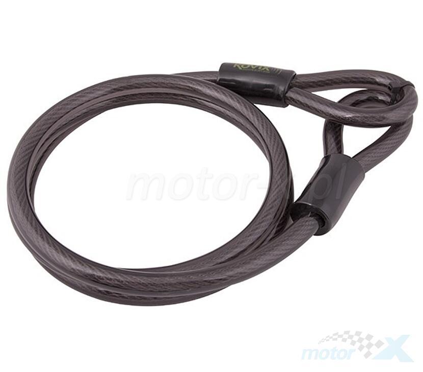 Linka stalowa 150cm z adapterem do blokad Kovix KZA-150