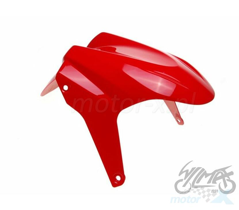 FRONT FENDER RED FOR Yamaha AEROX 50 13-14 - www.motor-x.com - Online store