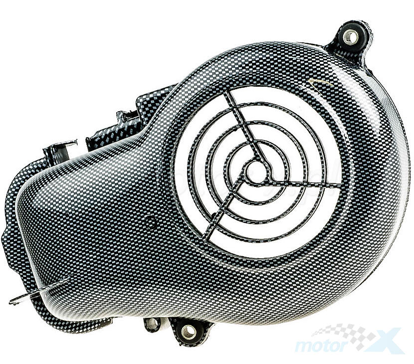 Osłona wentylatora silnika carbon MBK OVETTO Yamaha NEO'S