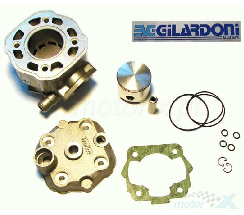 CYLINDER NICASIL+GŁOWICA DERBI SENDA/GPR  L/C 48MM