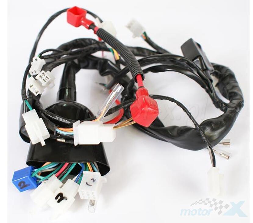 Instalacja elektryczna Zipp Manic RS 125
