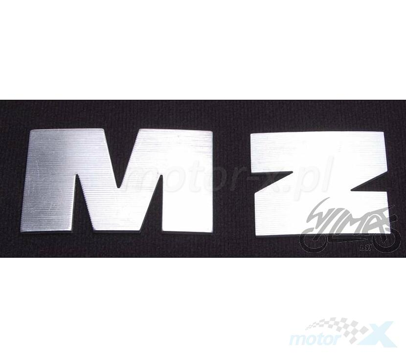 Litery zbiornika srebrne MZ