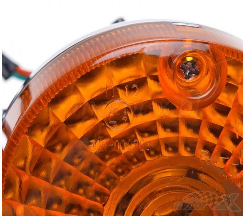 Kierunkowskazy tylne chrom kpl Suzuki GN125