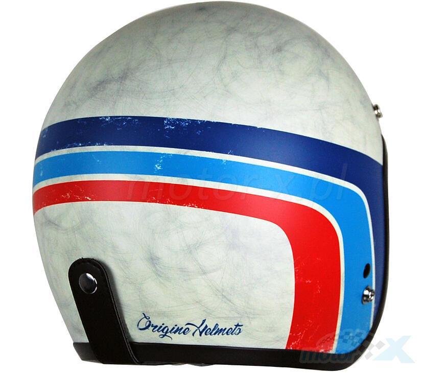 Kask otwarty Origine Primo Classic Vintage biały