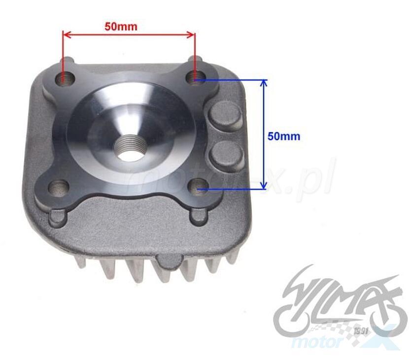 Głowica cylindra 70cm³ 1PE40QMB 2T Minarelli CY horizontal AC