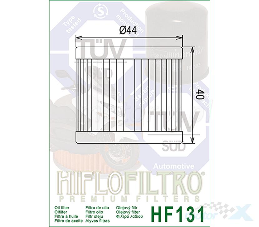 Hiflo HF131 Filtre huile