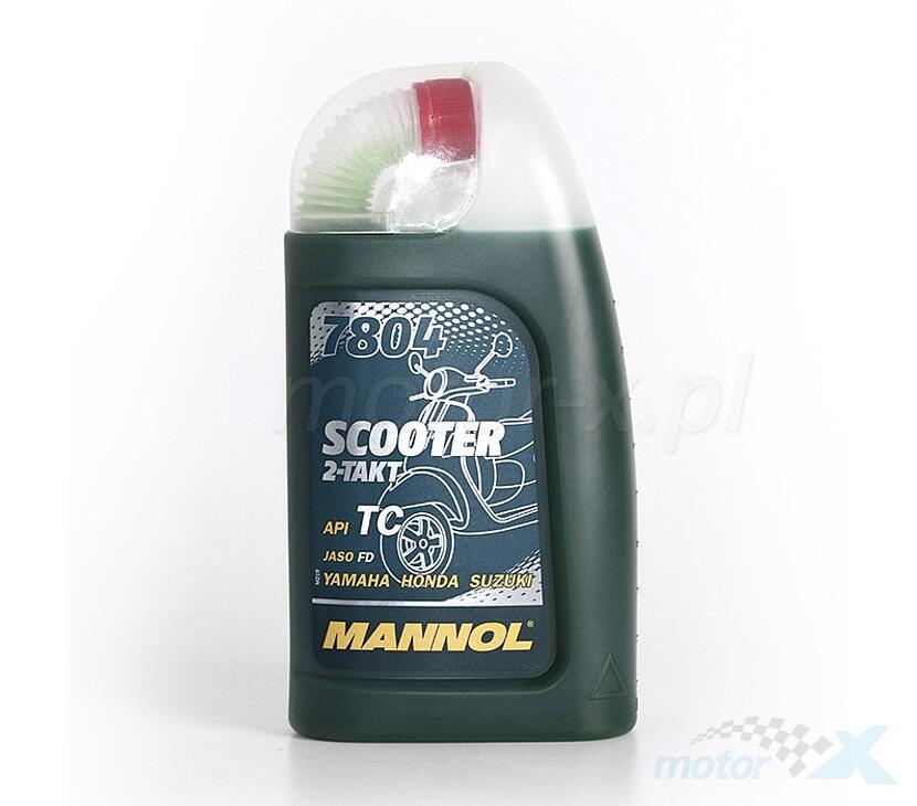 Olej 2T Mannol Scooter 7804 mineralny 1L