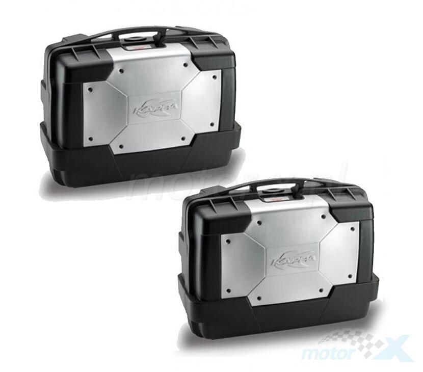 promozione speciale di modo attraente acquista il più recente Top Cases central or side 46L Garda Monokey + additional lock ...