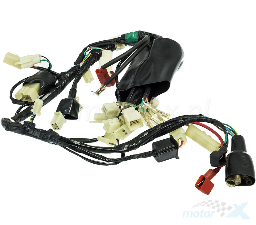 cable harness / wiring romet pony pro - www.motor-x.com - online store  motor-x.com