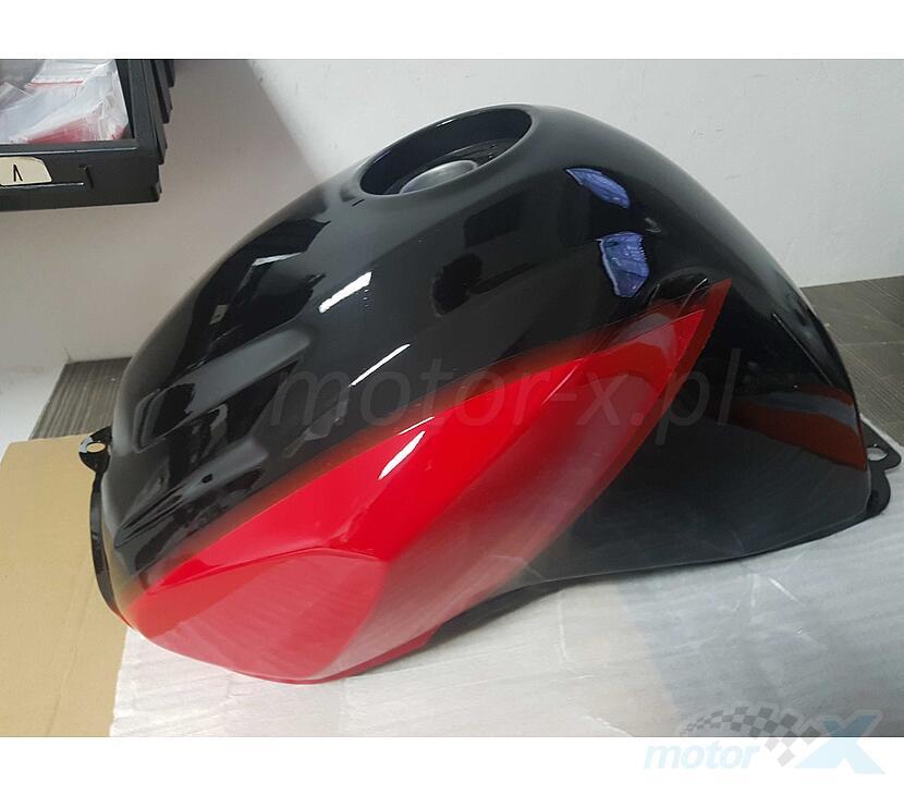 Zbiornik paliwa czerwono-czarny Romet RXC 125