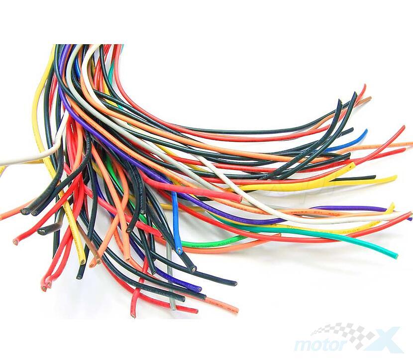Przewód instalacji elektrycznej 1.00mm 1 metr [różne kolory]