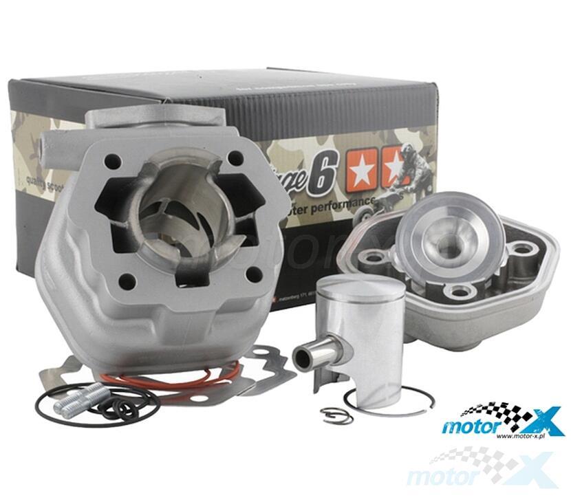 Cylinder  Kit Stage6 Alu 50cm³, Derbi Senda / GPR -2005 (EBE / EBS)