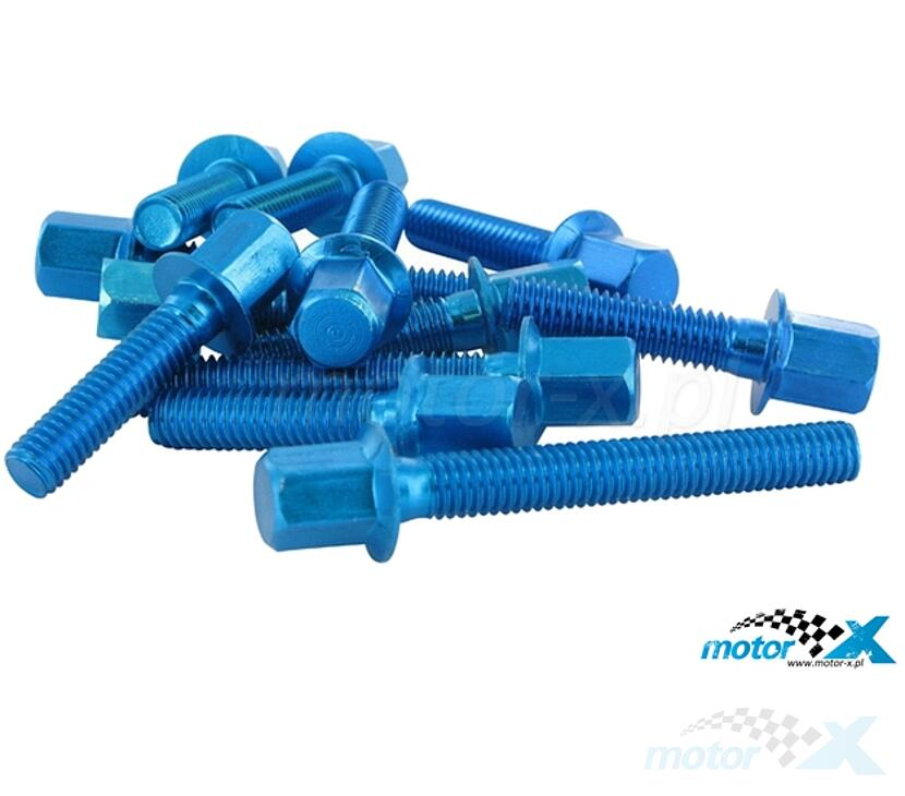 Screw The Engine Cover STR8 New Style, Blue, Minarelli